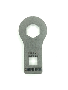 Classified Defense - Barrett REC7/REC10® Gas Block Nut Wrench