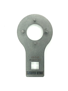 Classified Defense - Standard AR15 Barrel Nut Wrench - Pinned